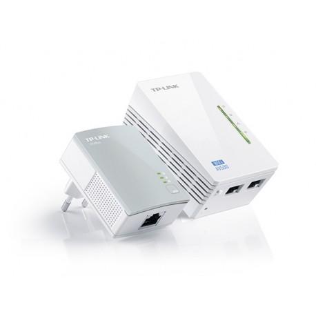 TPLINK 300MBPS WIFI AV500 POWERLINE ETHERNET AND WIFI RANGE EXTENDER