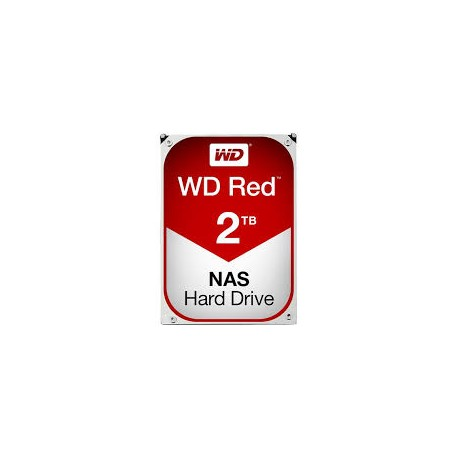 Western Digital Red 2TB IntelliPower SATA HDD NAS Storage  (1-8 Bay NAS Systems)