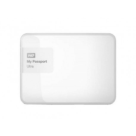 "Western Digital® - External 2.5"" Passport Ultra 2TB USB 3.0 / WHITE"