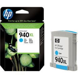 HP 940XL Cyan OfficeJet Ink Cartridge