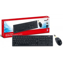 Genius Keyboard - KB-8000ME Wireless Keyboard & Mouse Combo