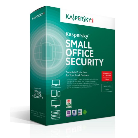 Kaspersky Small Office Security 4  for Personal Computers, Mobiles and File Servers