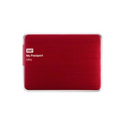 "Western Digital® - External 2.5"" Passport Ultra 2TB USB 3.0 / BERRY"