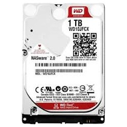 Western Digital Red 1TB IntelliPower SATA HDD NAS Storage  (1-8 Bay NAS Systems)