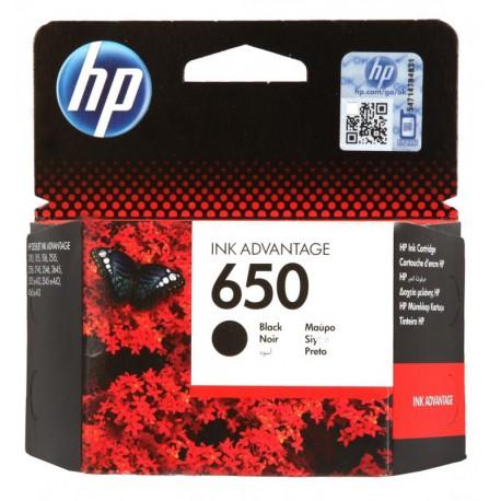 HP 650 Black Original Ink Advantage Cartridge @ R249