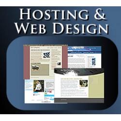 HOSTING + WEB DESIGN @ R4999